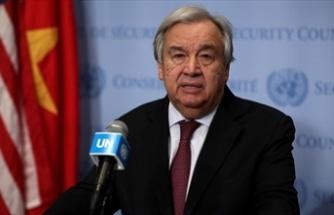 Guterres, Kıbrıs konusunda ilgili tarafları en yakın tarihte toplantıya çağıracağını açıkladı