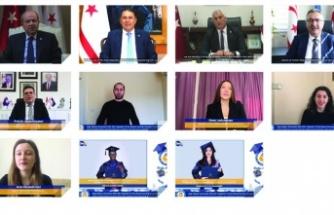 DAÜ 2020-2021 akademik yılı güz dönemi mezuniyet törenleri 15-16 Şubat'ta yapıldı