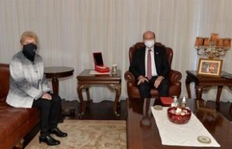 Cumhurbaşkanı Tatar Lute'u kabul etti