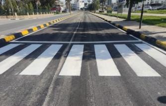 Lefkoşa'da Dr. Burhan Nalbantoğlu caddesi yeniden trafiğe açıldı