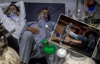 Bir yatakta iki hasta