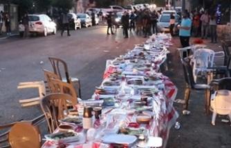 İsrailliler iftar vakti Filistinlilere saldırdı