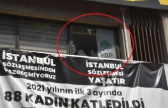 HDP İzmir il binasında silahlı saldırı: 1 ölü