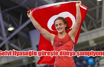 16 yaşındaki TC Milli Güreşçisi Selvi İlyasoğlu dünya şampiyonu oldu