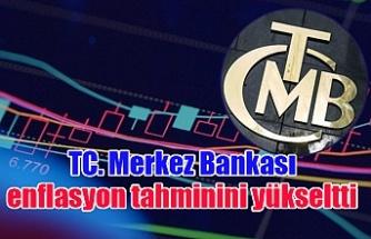 TC. Merkez Bankası enflasyon tahminini yükseltti