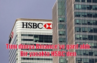 Tüm dünya Binance'ye gard aldı: Bir yasakta HSBC'den