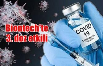 Biontech'te 3. doz etkili