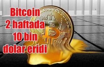 Bitcoin 2 haftada 10 bin dolar eridi