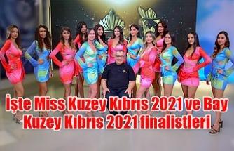 İşte Miss Kuzey Kıbrıs 2021 ve Bay Kuzey Kıbrıs 2021 finalistleri