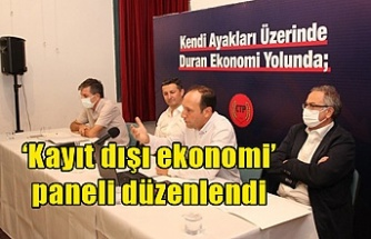 'Kayıt dışı ekonomi' paneli düzenlendi