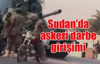 Sudan'da askeri darbe girişimi