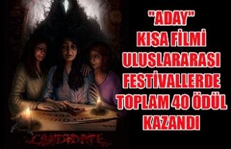 """Yönetmenlerinden birinin Kıbrısta yaşadığı """"Aday"""" kısa filmi uluslararası festivallerde toplam 40 ödül kazandı"""