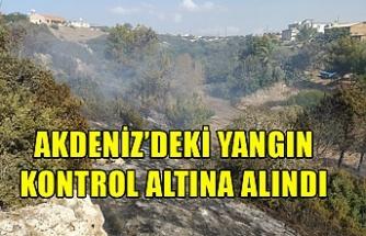 Akdeniz'deki yangın kontrol altına alındı