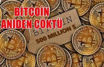 Bitcoin aniden çöktü