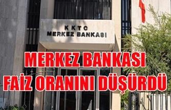 KKTC Merkez Bankası faiz oranlarını düşürdü