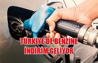 Türkiye'de Benzine indirim geliyor
