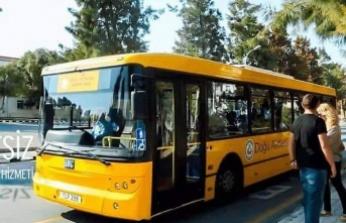 DAÜ'nün Ücretsiz Otobüs Hizmeti 23 Eylül'de Başlıyor