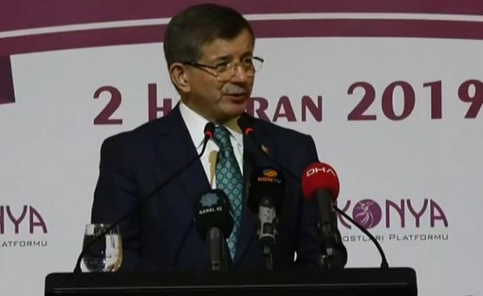 Davutoğlu'ndan Konya'da yeni parti duyurusu!