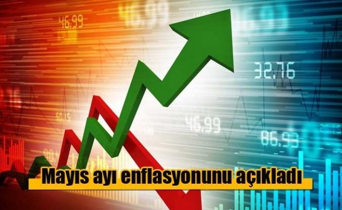 Türkiye Mayıs ayı enflasyonunu açıkladı