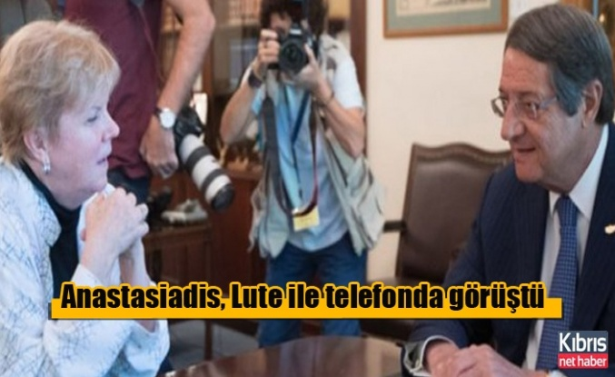 Anastasiadis, Lute ile telefonda görüştü