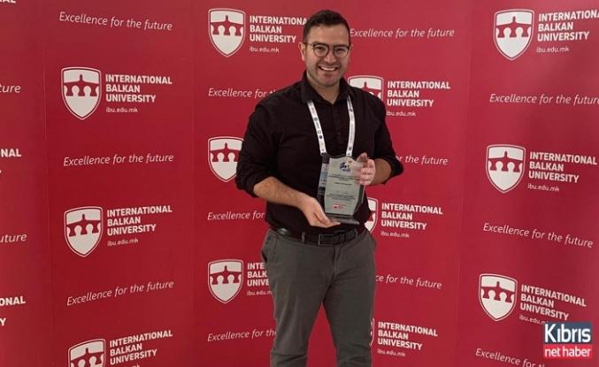 LAÜ akademisyeni Makedonya'da ödüle layık görüldü