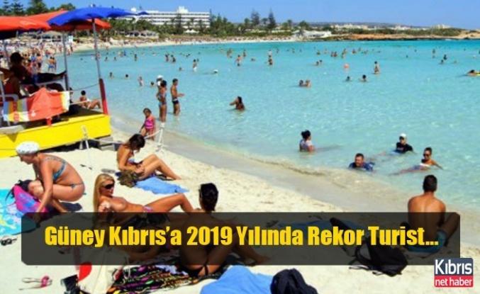 Güney Kıbrıs'a 2019 Yılında Rekor Turist…