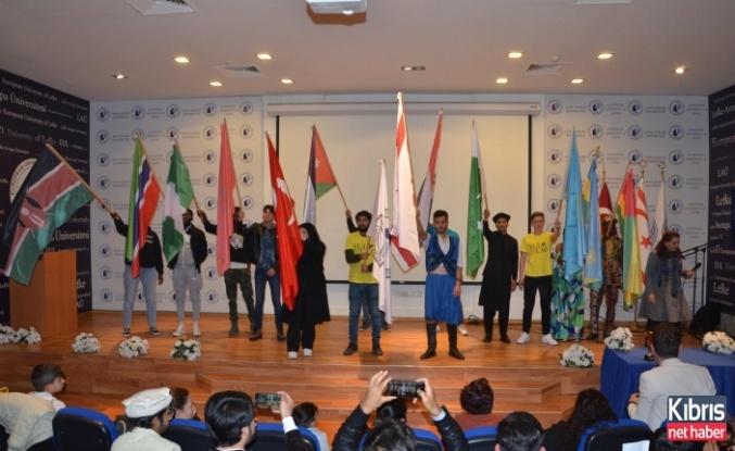 LAÜ'de Kıbrıs ve Uluslararası Kültür Gecesidüzenlendi