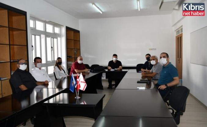 DAÜ mühendislik fakültesi ile KTSO'dan ortak proje toplantısı
