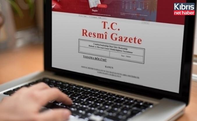 TC-KKTC Arasinda 3 Mart'ta İmzalanan İktisadi Ve Mali İşbirliği Anlaşması TC Resmi Gazete'de Yayimlandı