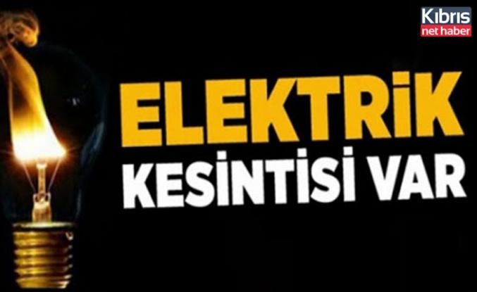 İskele bölgesinde yarın 5 saatlik elektrik kesintisi var