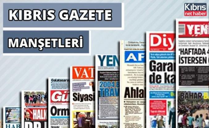 26 Temmuz 2021 Pazartesi Gazete Manşetleri