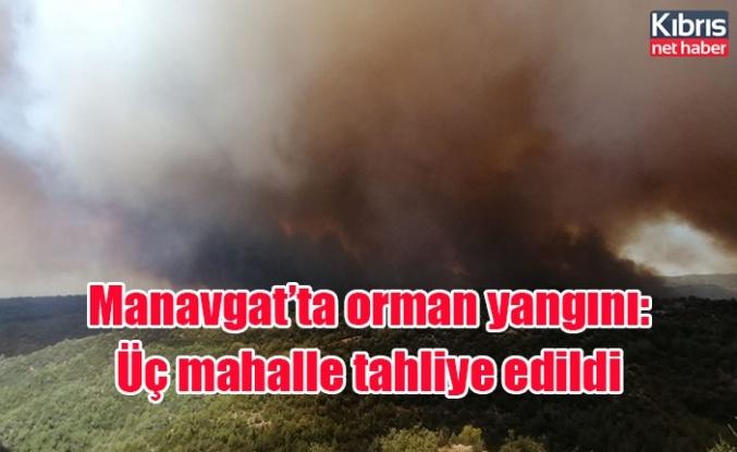 Manavgat'ta orman yangını: Üç mahalle tahliye edildi
