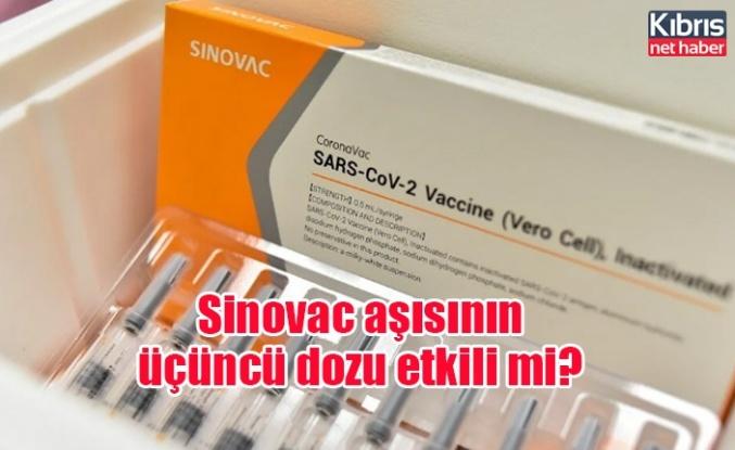 Sinovac aşısının üçüncü dozu etkili mi?