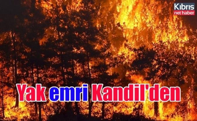 Yak emri Kandil'den