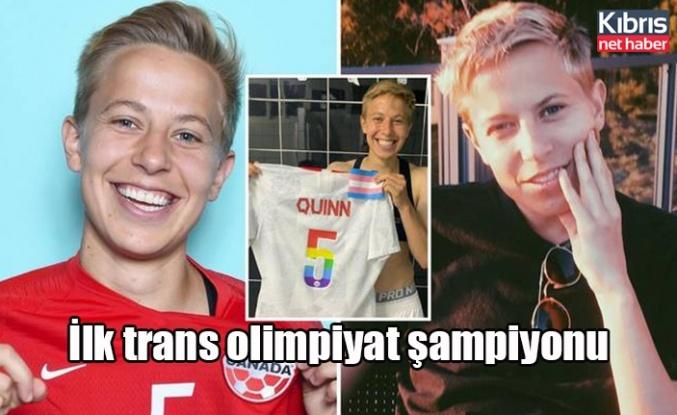 İlk trans olimpiyat şampiyonu