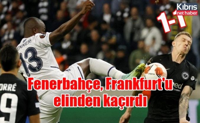 Fenerbahçe, Frankfurt'u elinden kaçırdı