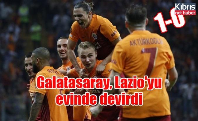 Galatasaray, Lazio'yu evinde devirdi