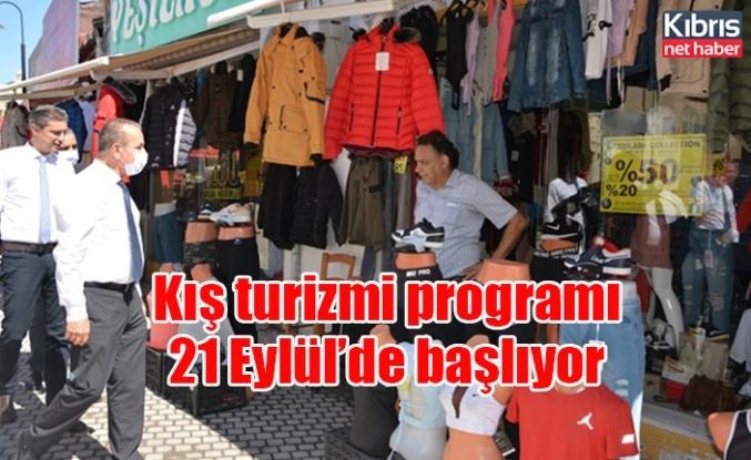 Kış turizmi programı 21 Eylül'de başlıyor