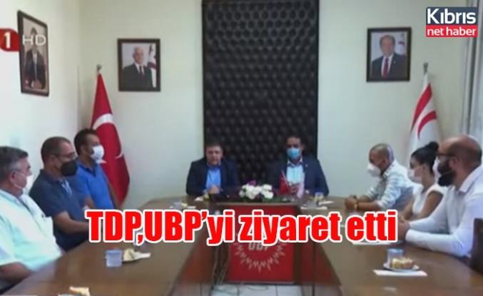 TDP,UBP'yi ziyaret etti