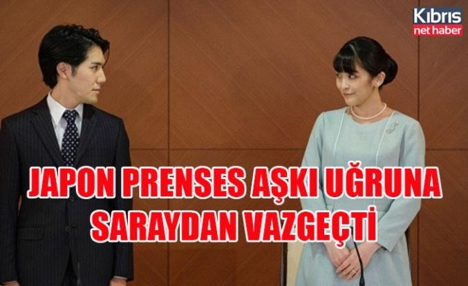 Japon prenses aşkı uğruna saraydan vazgeçti