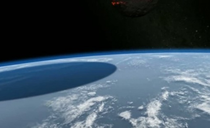 Dünya'ya 500 Kilometre Çapında Bir Göktaşı Çarparsa...