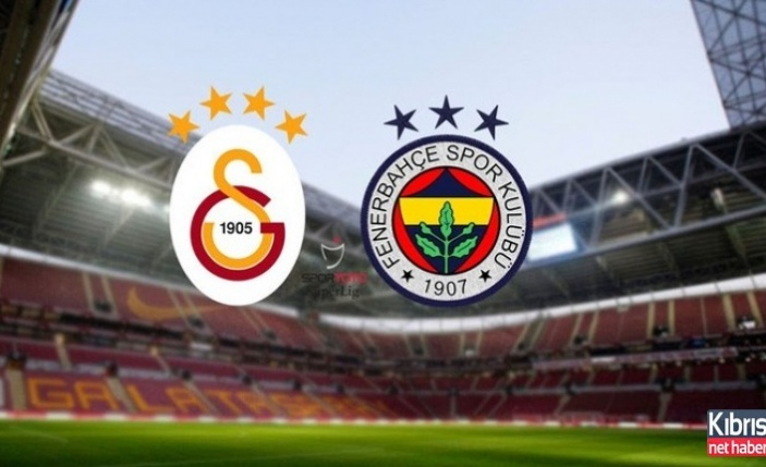Galatasaray Fenerbahçe derbisi bu akşam