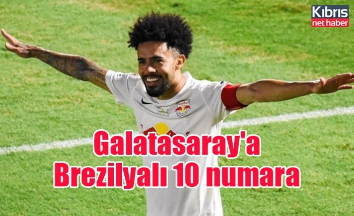 Galatasaray'a Brezilyalı 10 numara