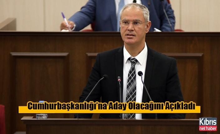 Hasipoğlu Cumhurbaşkanlığı'na Aday Olacağını Açıkladı