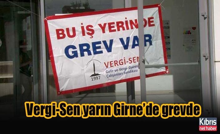 Vergi-Sen yarın Girne'de grevde