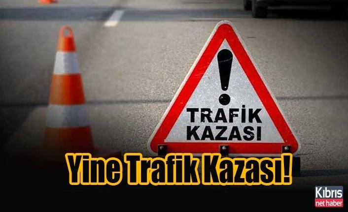Alsancak'ta kaza! Motosiklet sürücüsü yaralandı