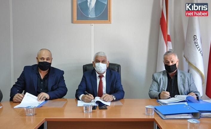 Güzelyurt Belediyesi'nde bazı ihale sözleşmeleri imzalandı