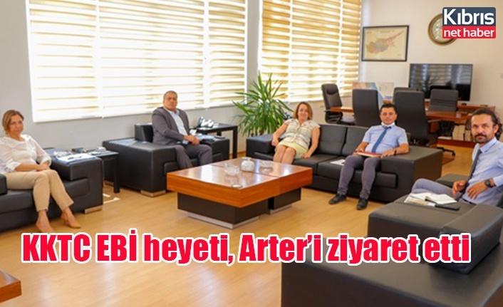 KKTC EBİ heyeti, Arter'i ziyaret etti