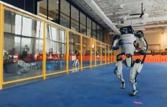Robotların yeni yıl dansı